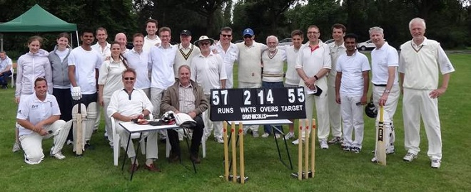 Annual Cricket Match 2016